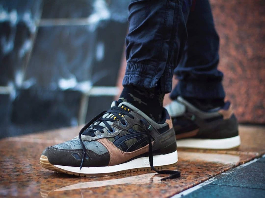 Limited Edt x SBTG x Asics Gel Lyte 3 Monsoon Patrol