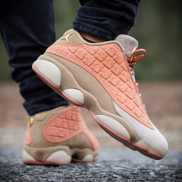 Clot x Air Jordan 13 Retro Low Terracotta Warrior - @thesneakersergeant