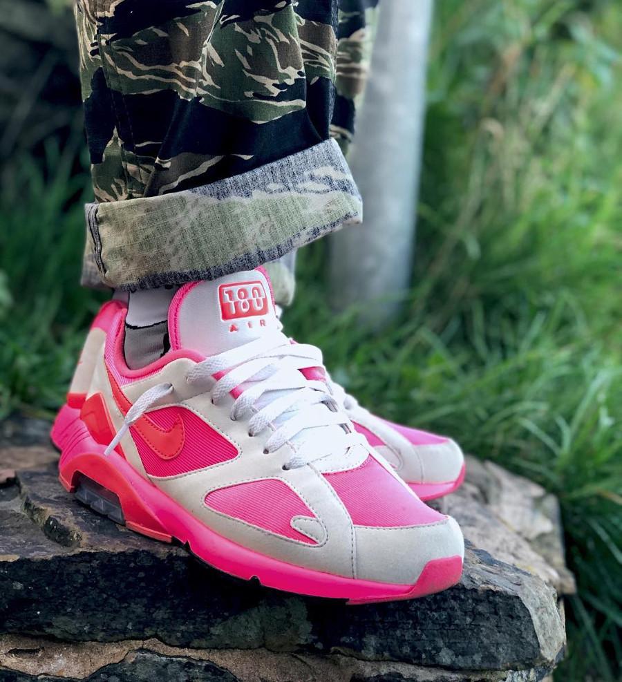 Comme des Garçons x Nike Air Max 180 CDG White Pink
