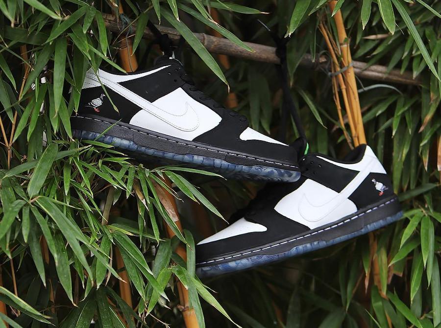 Jeff Staple x Nike Dunk Pro Low SB blanche et noire (1)
