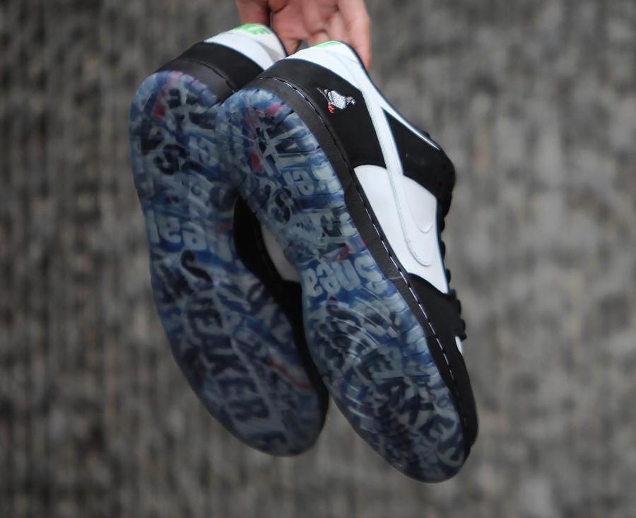 Jeff Staple x Nike Dunk Pro Low SB blanche et noire (5)