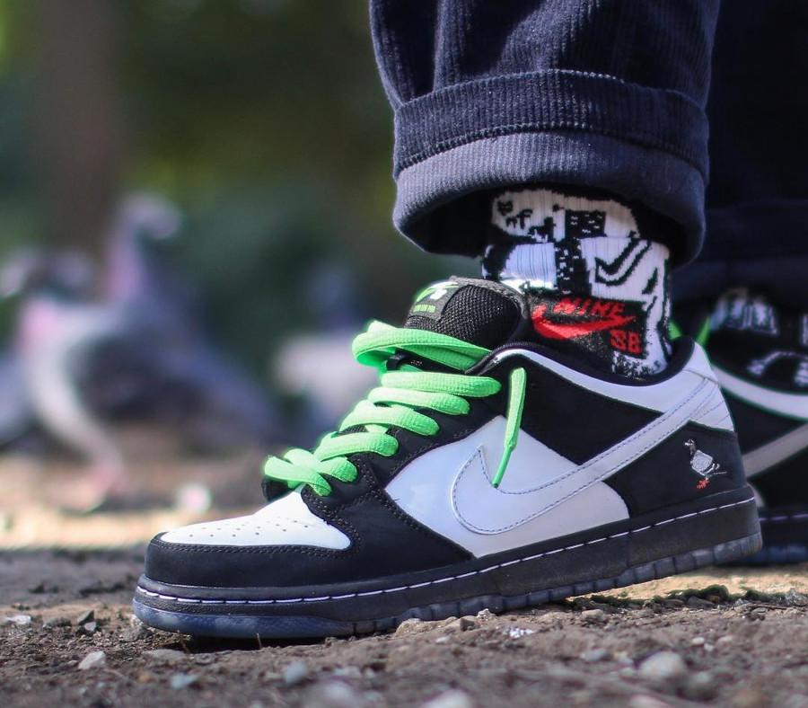 Jeff Staple x Nike Dunk SB Low Pro Panda Pigeon - @ai0806ai