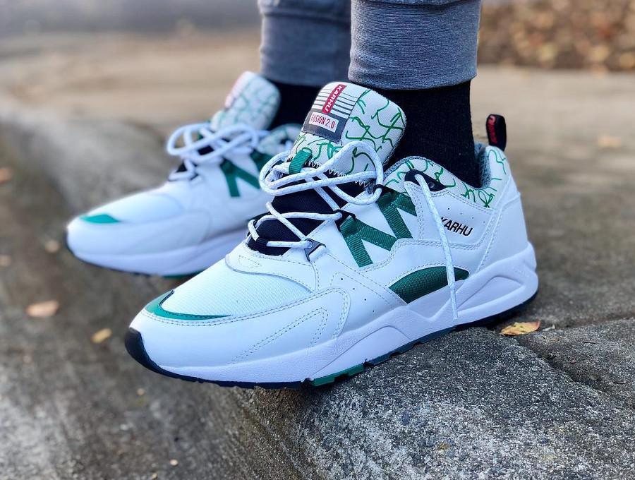 Karhu Fusion 2.0 White Green 2018