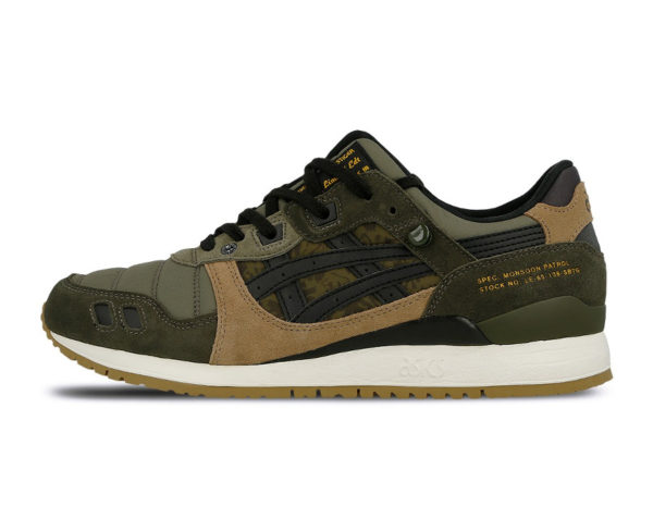 Limited Edt x SBTG x Asics Gel Lyte III Monsoon Patrol