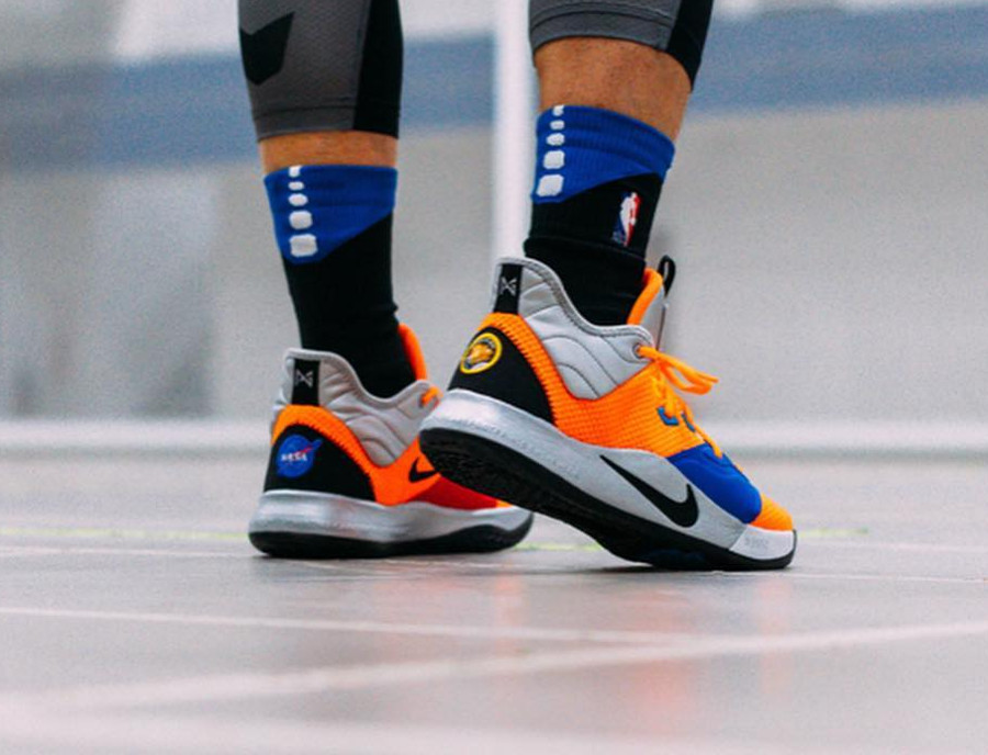 Nasa x Nike PG 3 Total Orange (2)