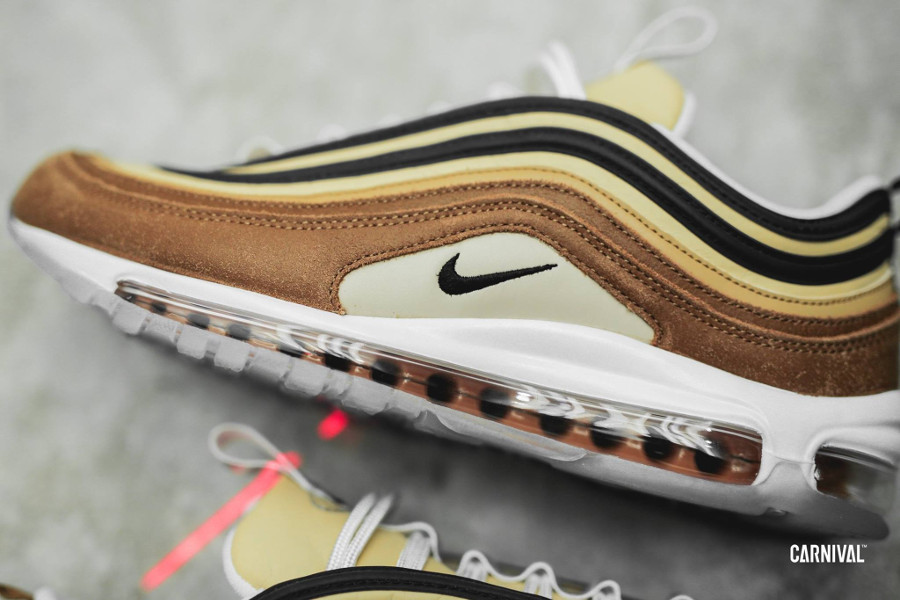 Nike 97 Ale Brown Black Elemental Gold (1-1)