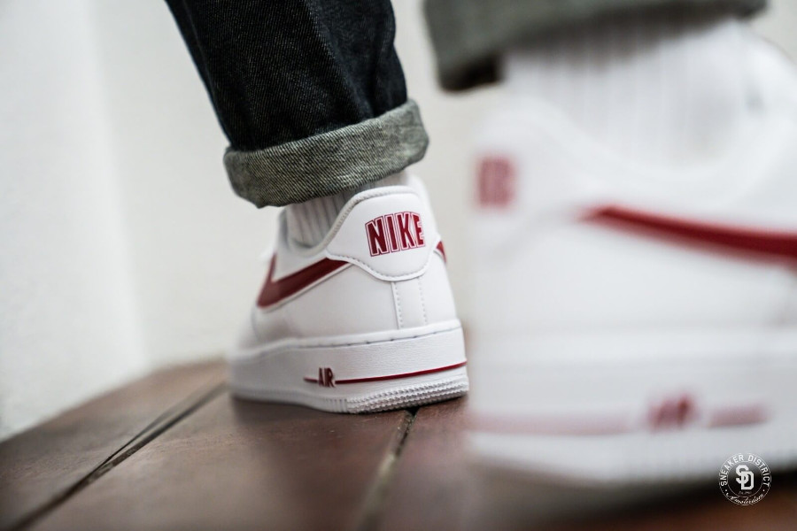 Nike Air Force 1 '07 3 'White Gym Red' (4)