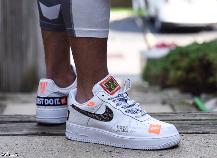 Nike Air Force 1 Premium JDI White - @cluu_78