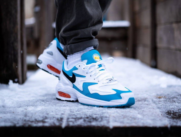 Nike Air Max² Light OG 2019 Blue Lagoon White Laser Orange