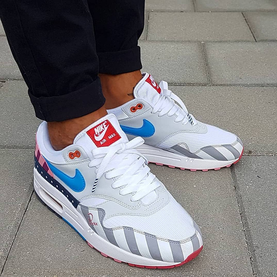 the best attitude c1d38 18b88 Nike Air Max 1 Parra 2018