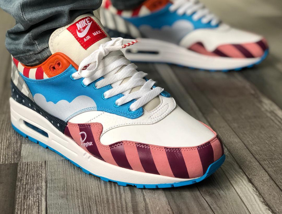 Nike Air Max 1 Parra 2018 Friends & Family (#SDJ 05/01/2019)