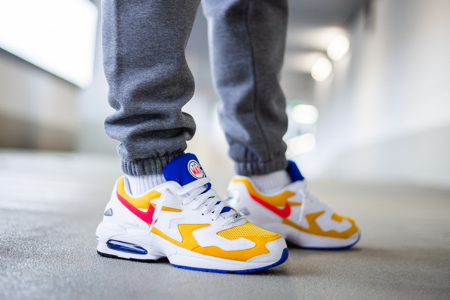 Nike Air Max 2 Light Retro University Gold (2)