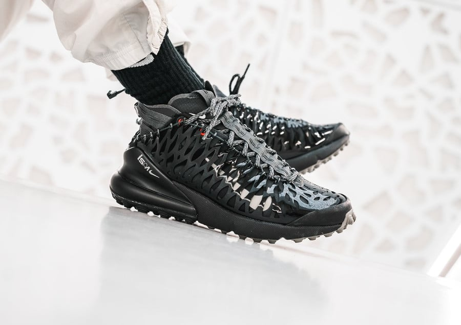 Nike Air Max 270 ISPA Black Anthracite-Dark Stucco (1)