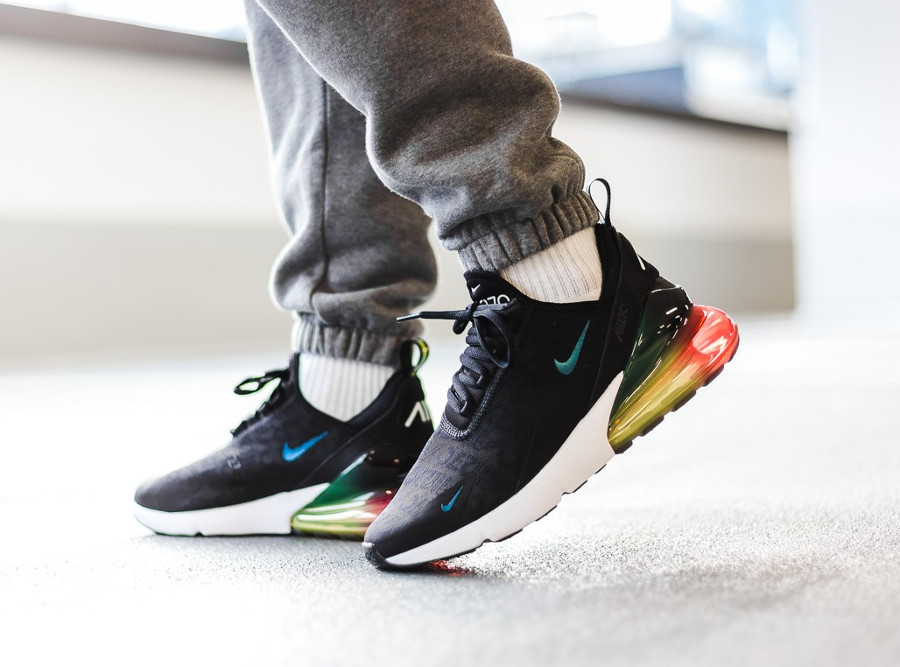 Nike Air Max 270 SE 'Black Laser Orange' (4-1)