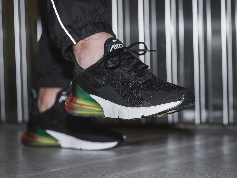 Nike Air Max 270 SE 'Black Laser Orange Ember Glow'