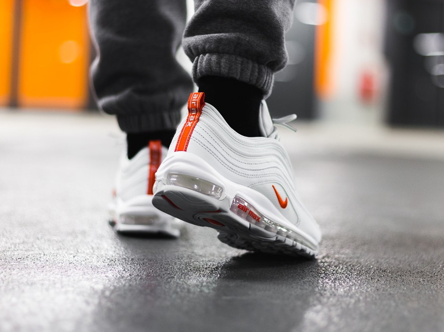 Nike Air Max 97 Platine Pure équipe orange (1)