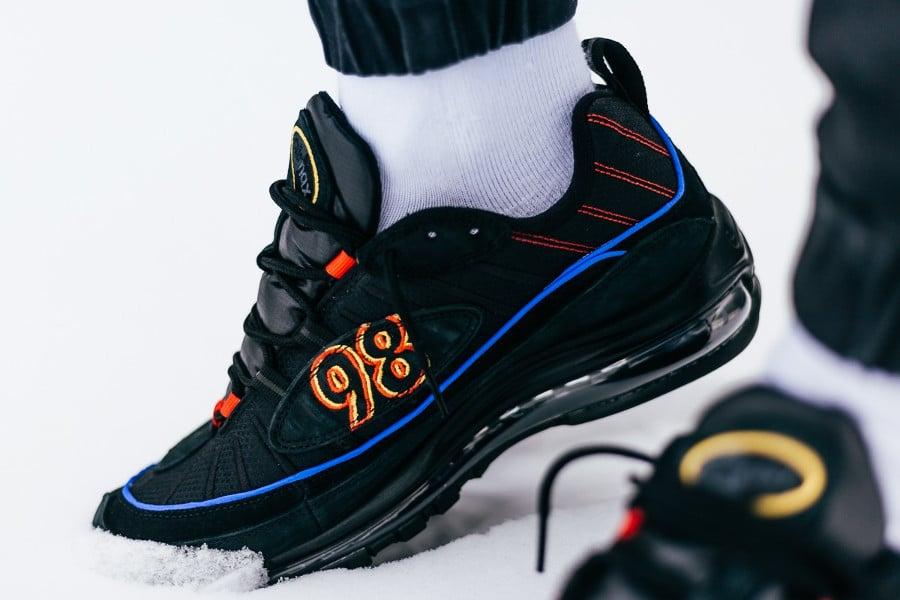 Nike Air Max 98 Black Amarillo (3)