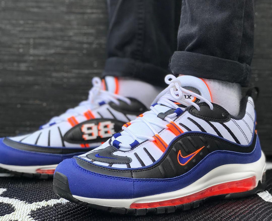 Nike Air Max 98 'Pixel' Royal Blue (2)
