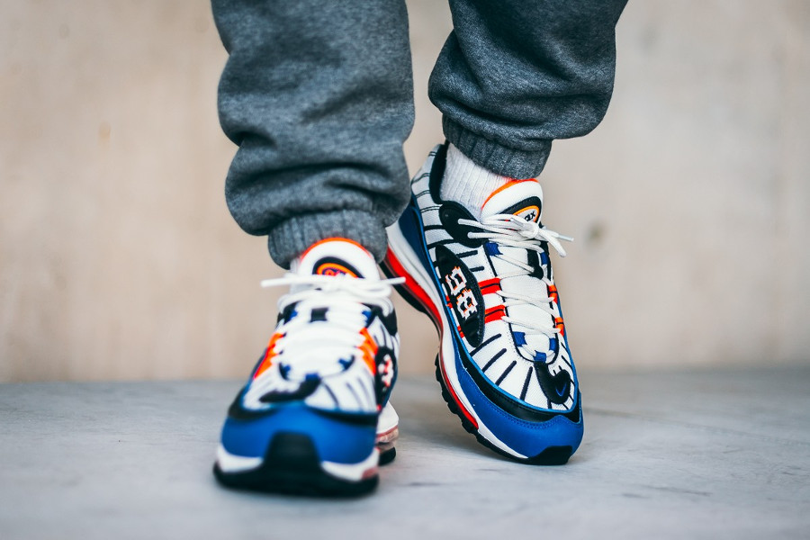 Nike Air Max 98 'Pixel' Royal Blue (5)