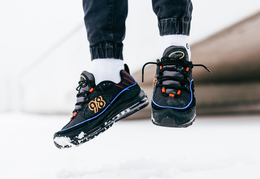 Nike Air Max 98 'Black Amarillo'