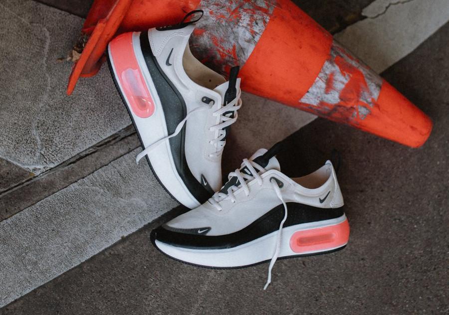 Nike Air Max Dia SE 'Pale Ivory Bright Crimson Black' (3)