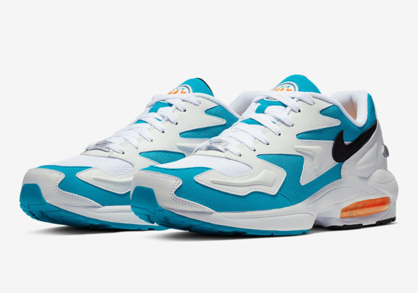 Nike Air Max Light 2 White Blue Lagoon