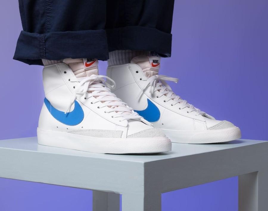 Nike Blazer Mid '77 Vintage QS Pacific Blue 2019