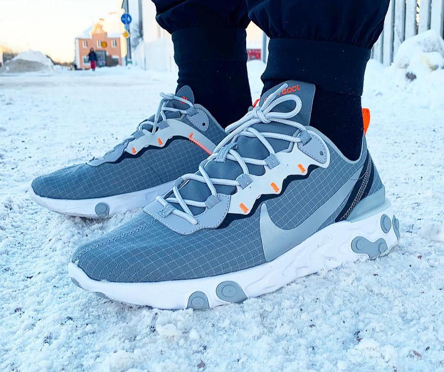 Nike React Element 55 Grey - @imjohanahlen
