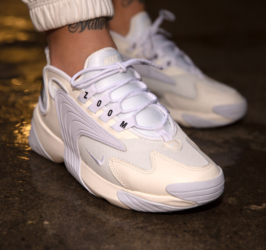 Avis : Nike Zoom 2K ZM Air Sail White Black (blanc cassé)