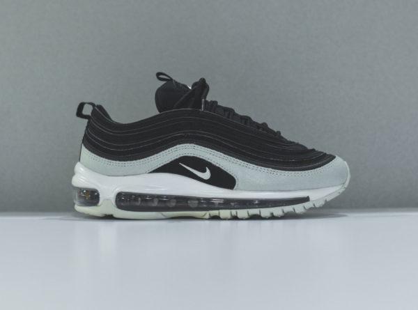 Nike Womens Air Max 97 PRM en daim noir et gris (1)