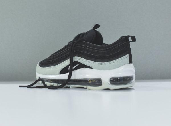 Nike Womens Air Max 97 PRM en daim noir et gris (3)
