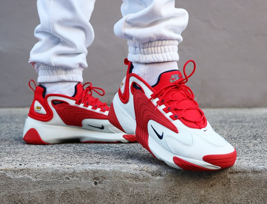 Nike Zoom 2K 'Off White University Red'