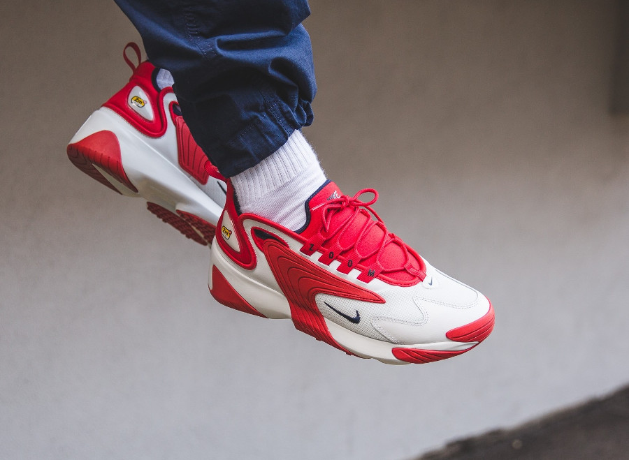 Nike Zoom 2K Off White University Red