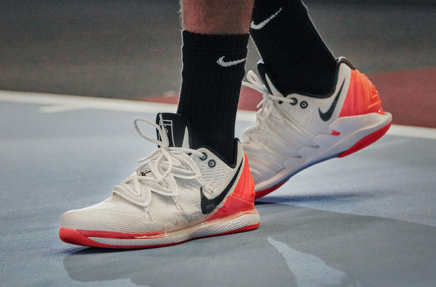 NikeCourt Air Zoom Vapor X Kyrie 5 'Hot Lava' (2)