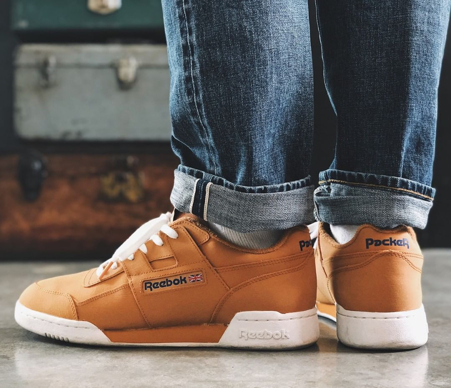 Packer Shoes x Reebok Workout Lo Reverse Gum - @sneakergrandpa