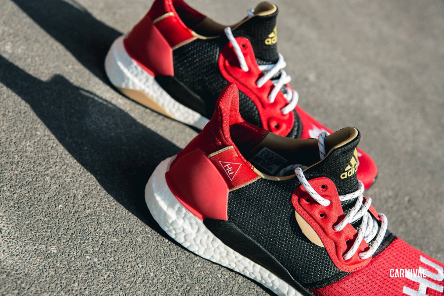 Pharrell Williams x Adidas Solar HU Glide M 'Chinese New Year 2019' (2-1)