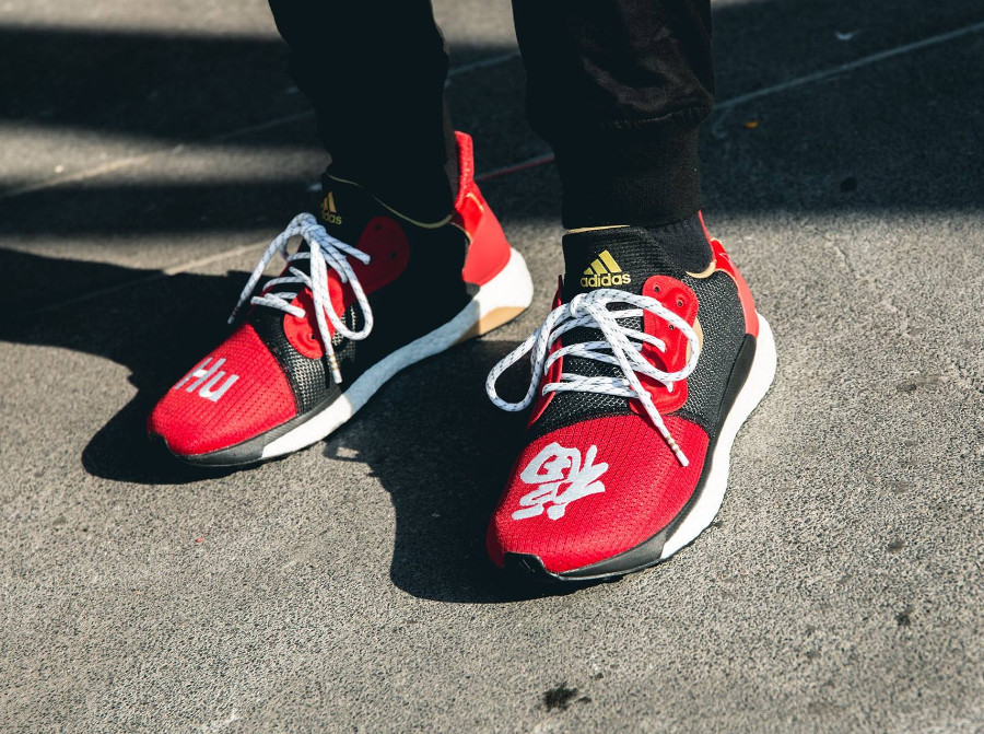 Pharrell Williams x Adidas Solar HU Glide M 'Chinese New Year 2019'
