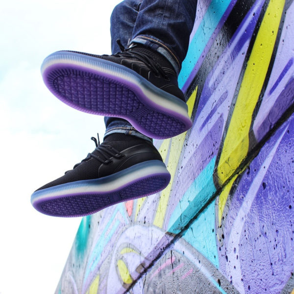 Puma Clyde Court Purple Glow - @sneakercloset