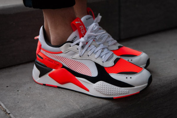 Puma RS-X Reinvention 2019 'White Blast Red' (homme)