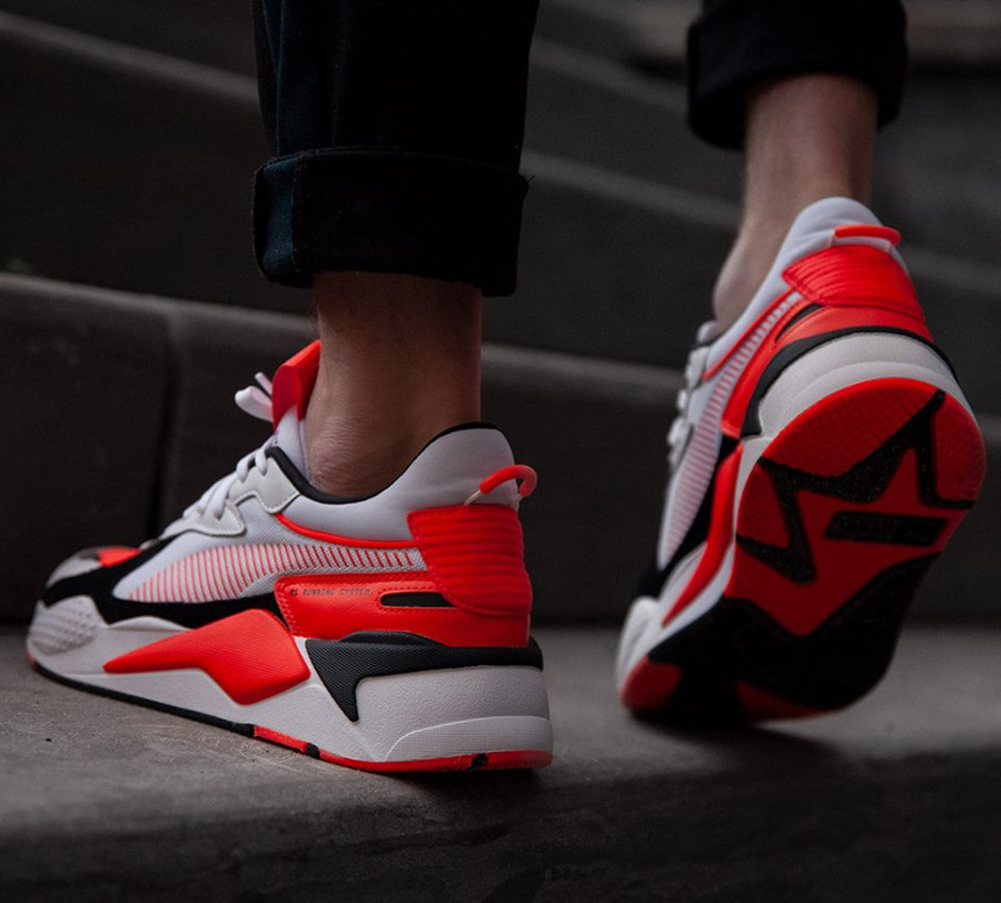 Avis] Puma RS X Reinvention 2019 'White Blast Red' (homme)
