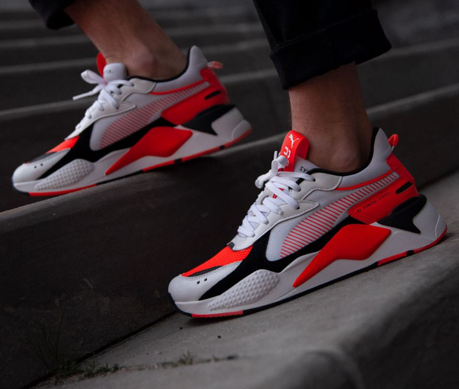 Puma RS-X Reinvention White Blast Red (2)
