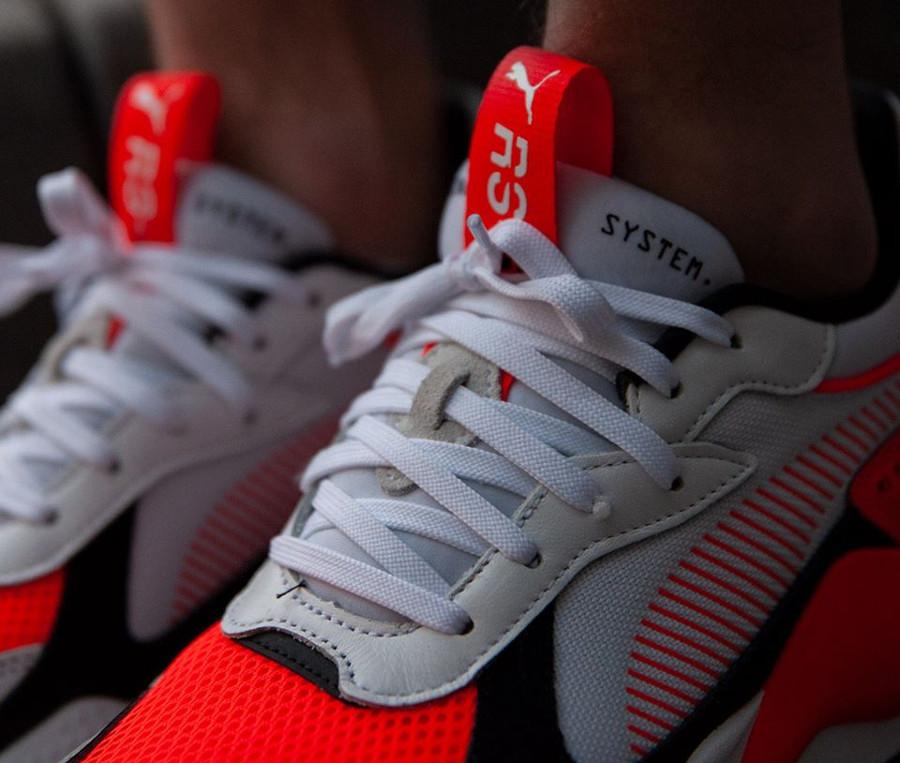 Puma RS-X Reinvention White Blast Red (3)