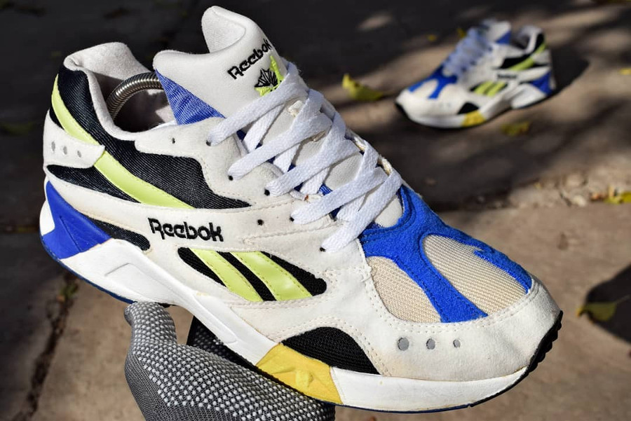 Reebok Aztrek vintage og 1993 Cobalt Yellow