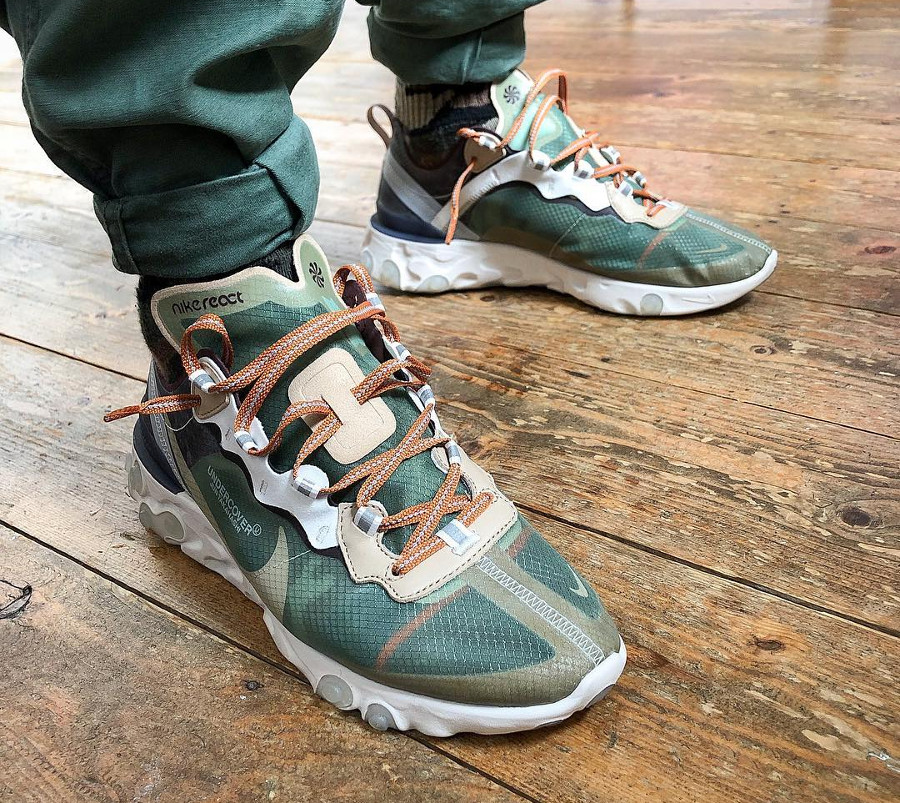 Undercover x Nike React Element 87 Green Mist
