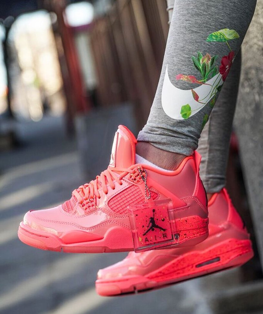 Womens Air Jordan 4 Retro NRG Hot Punch (1)