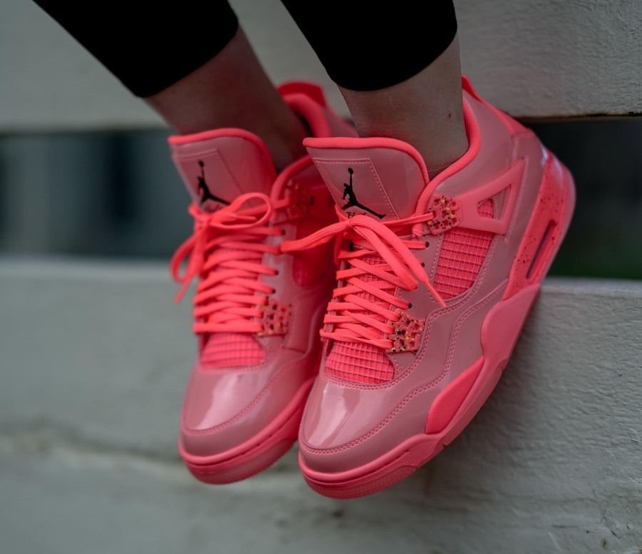 Womens Air Jordan 4 Retro NRG Hot Punch (2)