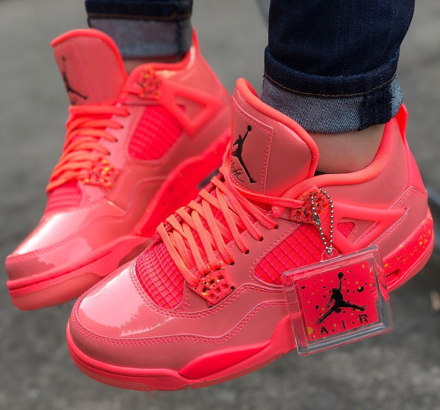 Womens Air Jordan 4 Retro NRG Hot Punch (3)