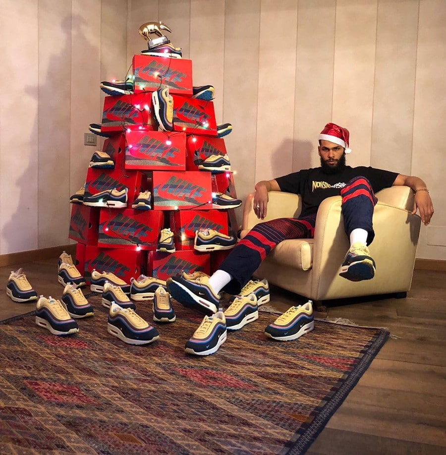 père noel en Air Max 1 97 sean Wotherspoon momo_tenth