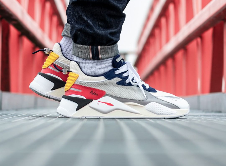 Ader Error x Puma RS-X 'Forever Youth' Whisper White Blueprint Red (3)