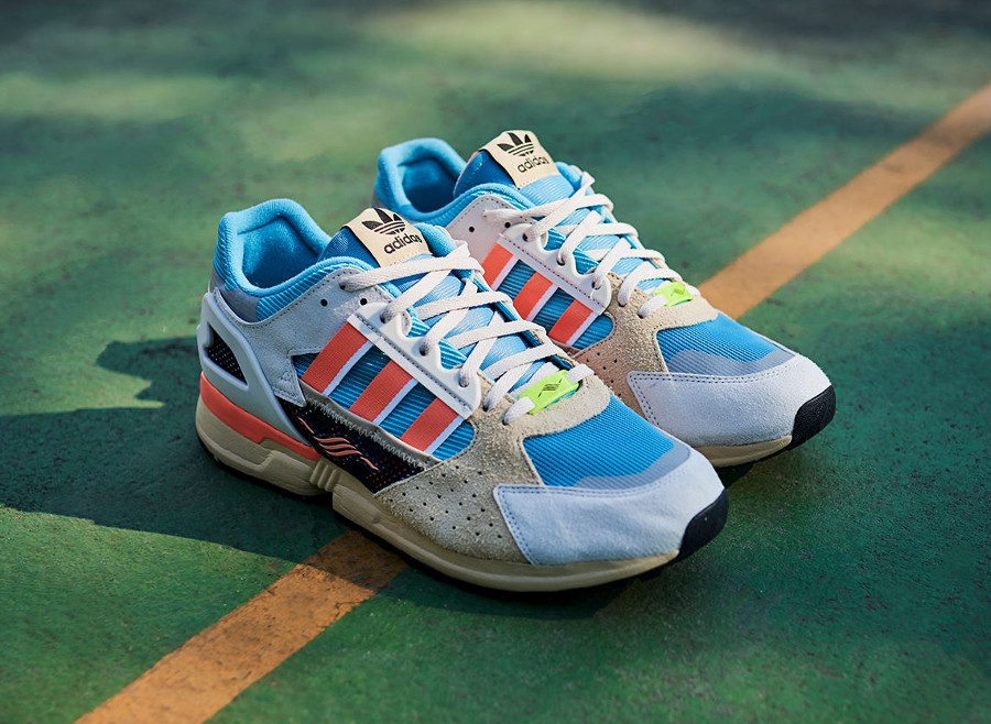 Adidas Consortium ZX 10000 C Blue Orange (1)